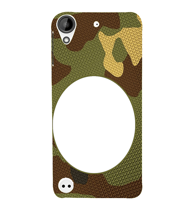 Camouflage Photo Back Cover for HTC Desire 530