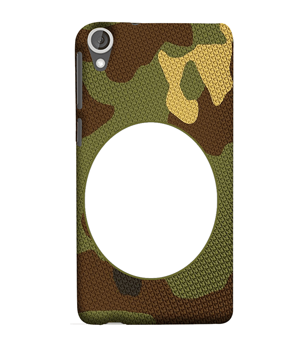 Camouflage Photo Back Cover for HTC Desire 825