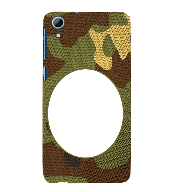 Camouflage Photo Back Cover for HTC Desire 826