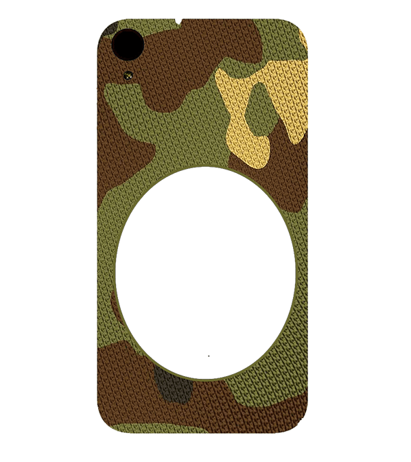 Camouflage Photo Back Cover for HTC Desire 830