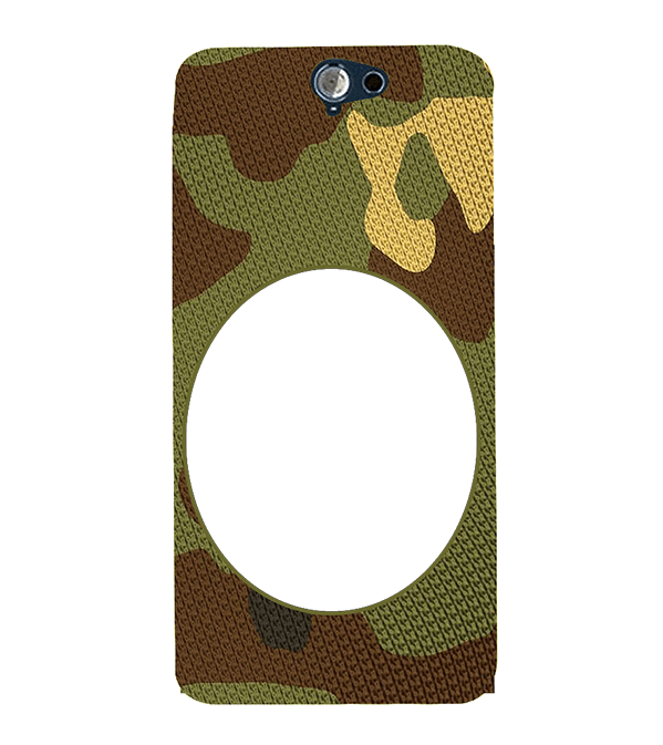 Camouflage Photo Back Cover for HTC One A9