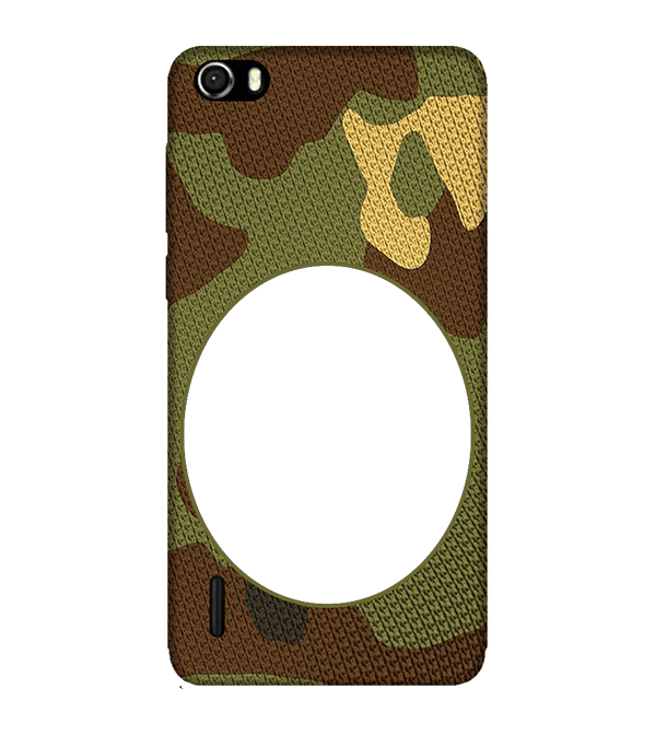 Camouflage Photo Back Cover for Huawei Honor 6