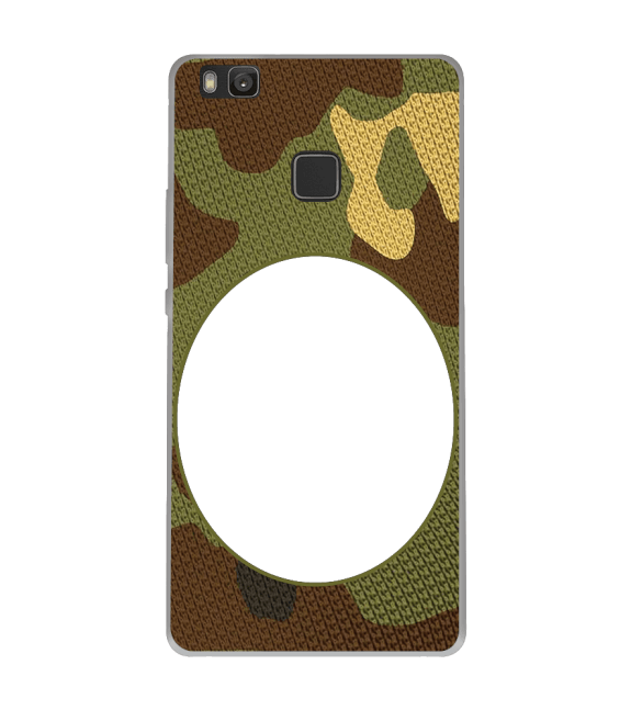 Camouflage Photo Back Cover for Huawei Honor 8 Smart