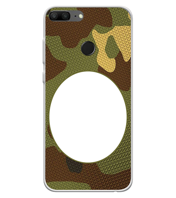 Camouflage Photo Back Cover for Huawei Honor 9 Lite