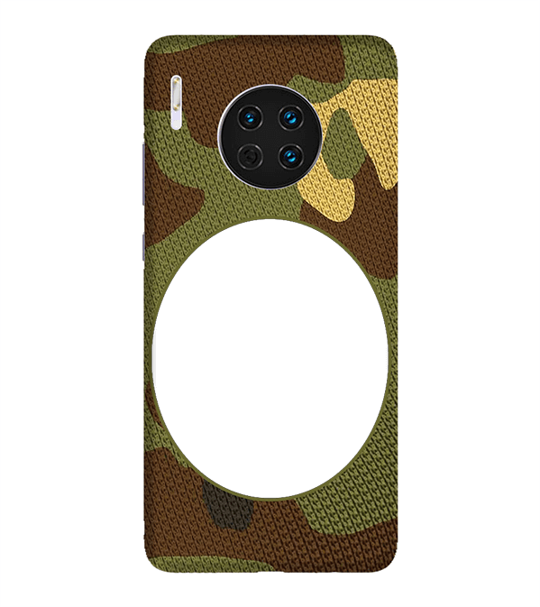 Camouflage Photo Back Cover for Huawei Mate 30