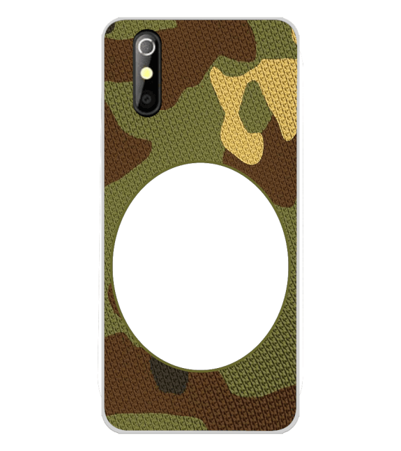 Camouflage Photo Back Cover for iKall K200