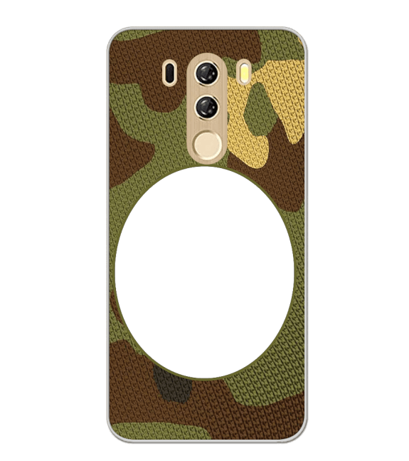 Camouflage Photo Back Cover for iKall K4