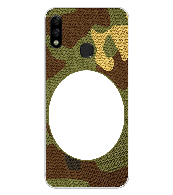 Camouflage Photo Back Cover for Infinix Hot 7 Pro