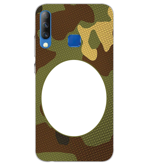 Camouflage Photo Back Cover for Infinix S4