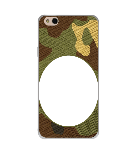 Camouflage Photo Back Cover for InFocus Bingo 50 Plus