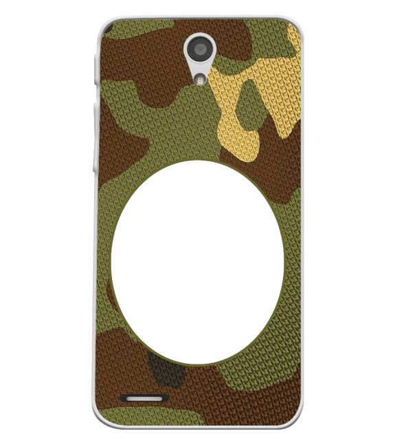 Camouflage Photo Back Cover for InFocus M260