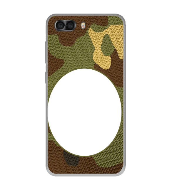 Camouflage Photo Back Cover for InFocus Turbo 5 Plus