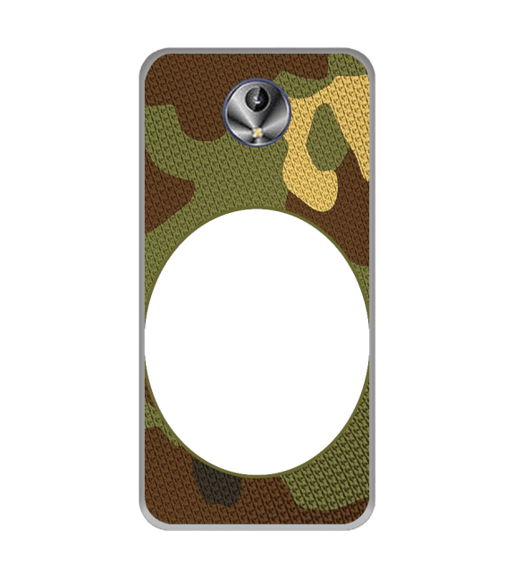 Camouflage Photo Back Cover for Intex Amaze+