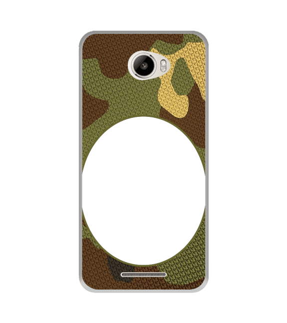 Camouflage Photo Back Cover for Intex Intx Trend Lite