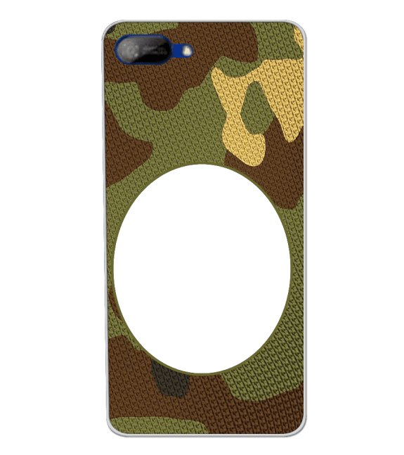 Camouflage Photo Back Cover for Itel A25