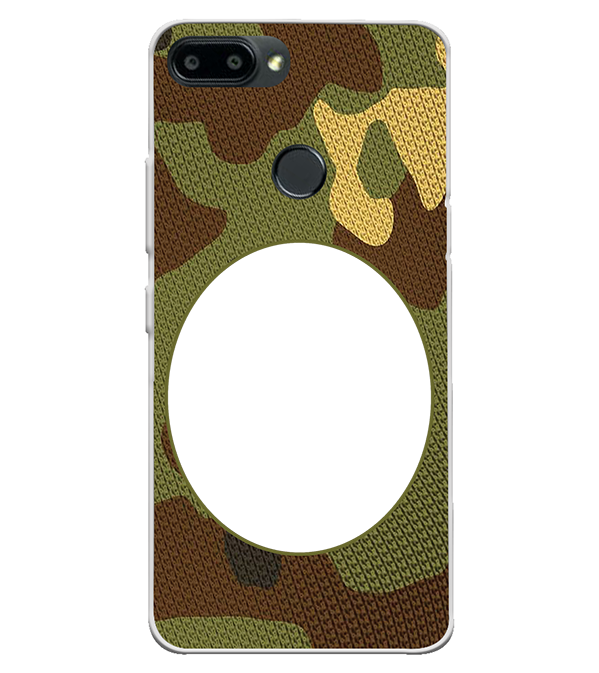 Camouflage Photo Back Cover for Itel A45