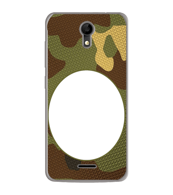 Camouflage Photo Back Cover for iVOOMi Me 4