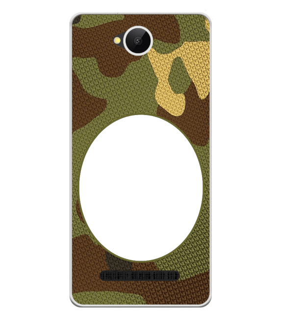 Camouflage Photo Back Cover for Karbonn A45 Indian
