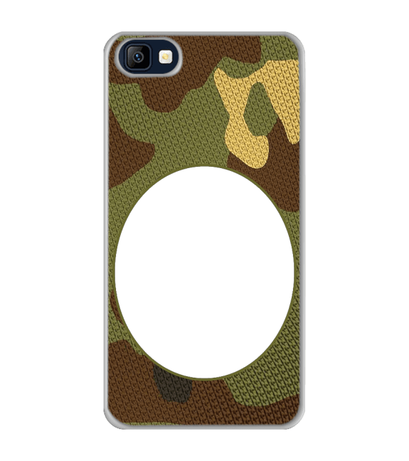 Camouflage Photo Back Cover for Karbonn K9 Smart Selfie