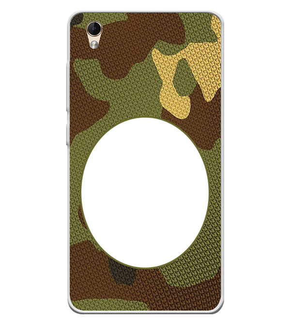Camouflage Photo Back Cover for Lava Z60