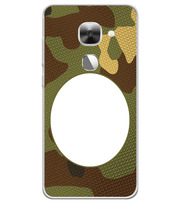 Camouflage Photo Back Cover for LeEco Le 2s