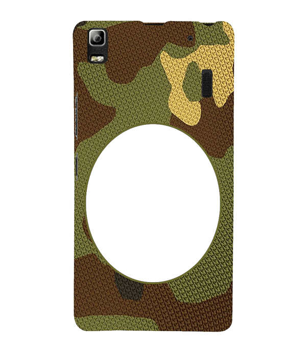 Camouflage Photo Back Cover for Lenovo A7000 and K3 Note