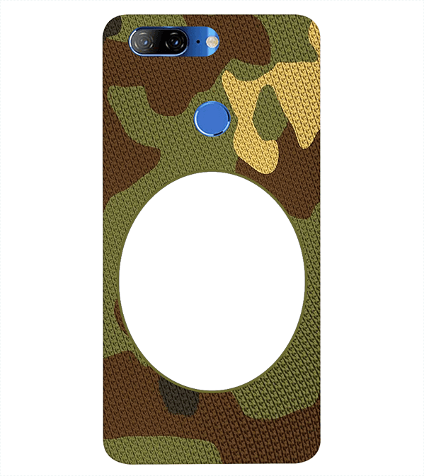 Camouflage Photo Back Cover for Lenovo K9