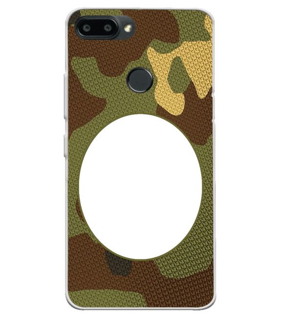 Camouflage Photo Back Cover for Lenovo K9 Note
