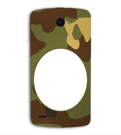 Camouflage Photo Back Cover for Lenovo S920