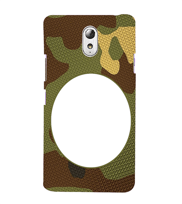 Camouflage Photo Back Cover for Lenovo Vibe P1M