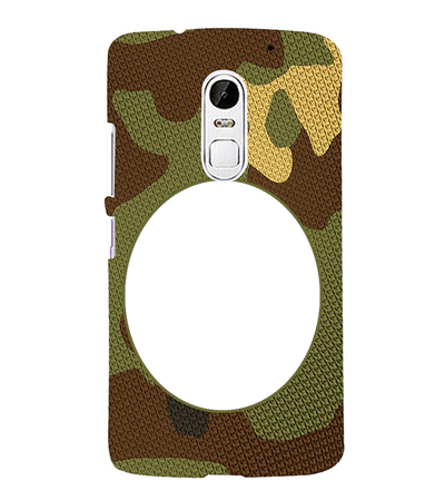 Camouflage Photo Back Cover for Lenovo Vibe X3