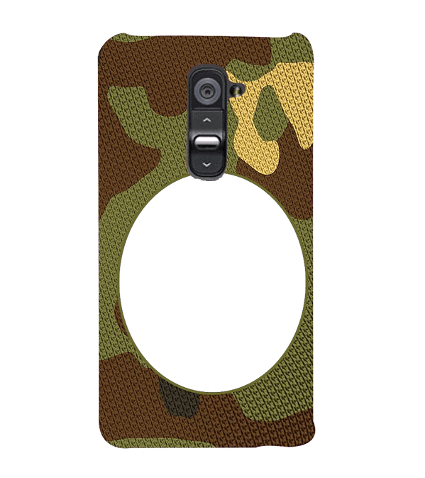 Camouflage Photo Back Cover for LG G2