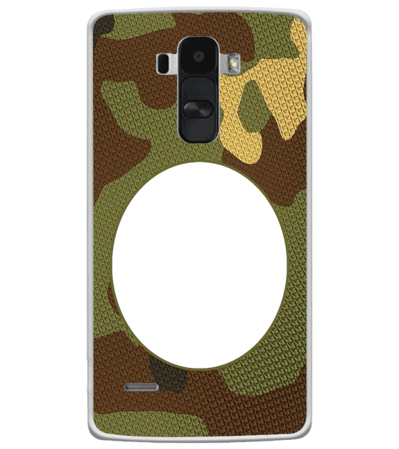 Camouflage Photo Back Cover for LG G4 Stylus