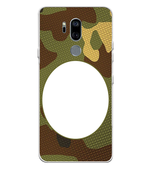 Camouflage Photo Back Cover for LG G7