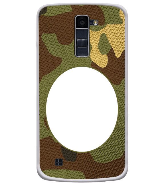 Camouflage Photo Back Cover for LG K10