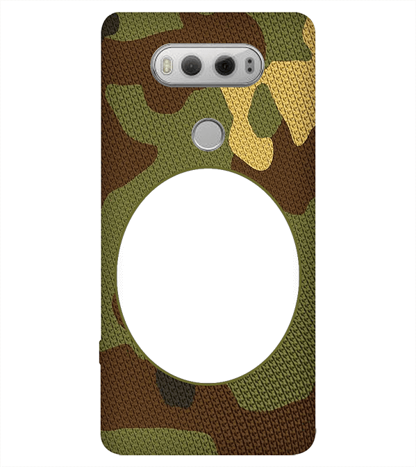 Camouflage Photo Back Cover for LG V20