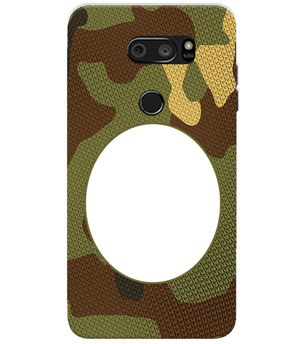 Camouflage Photo Back Cover for LG V30