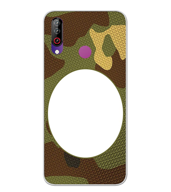 Camouflage Photo Back Cover for LG W30