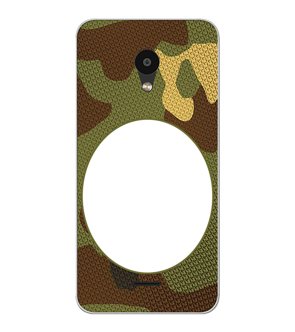 Camouflage Photo Back Cover for Meizu C9 Pro