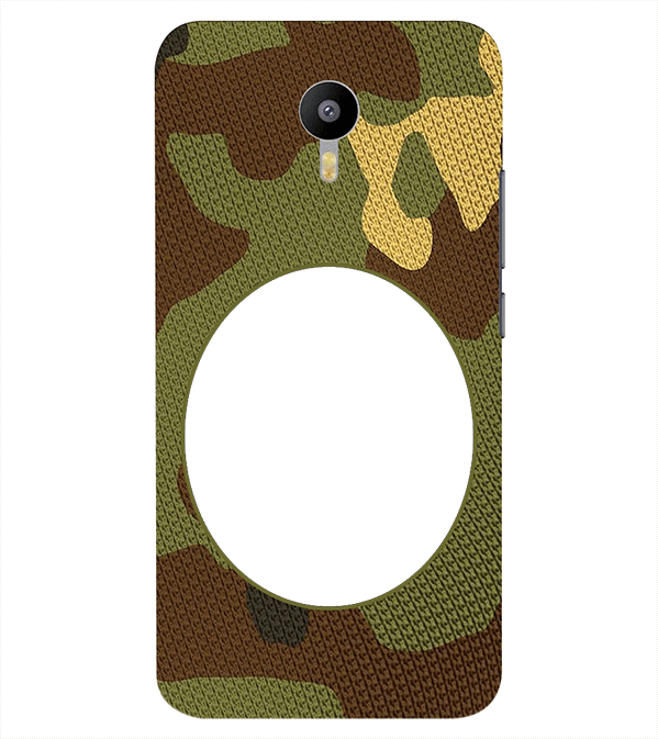 Camouflage Photo Back Cover for Meizu M2