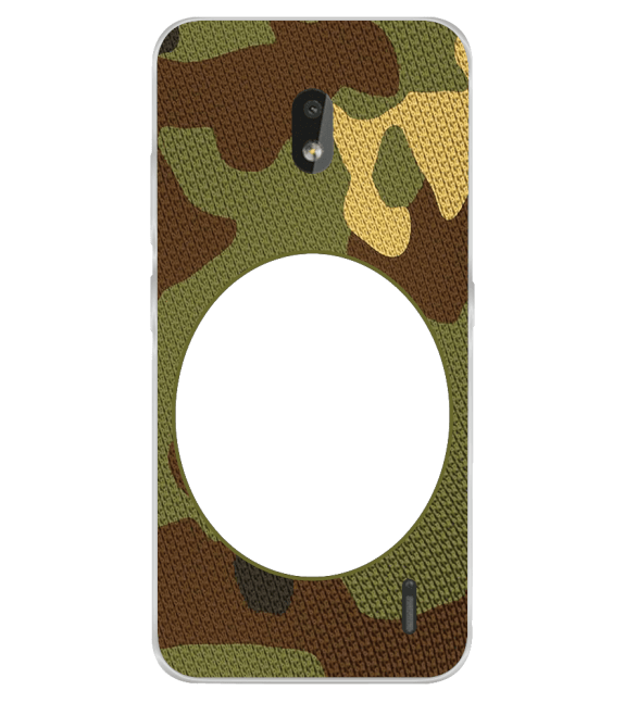 Camouflage Photo Back Cover for Nokia 2.2