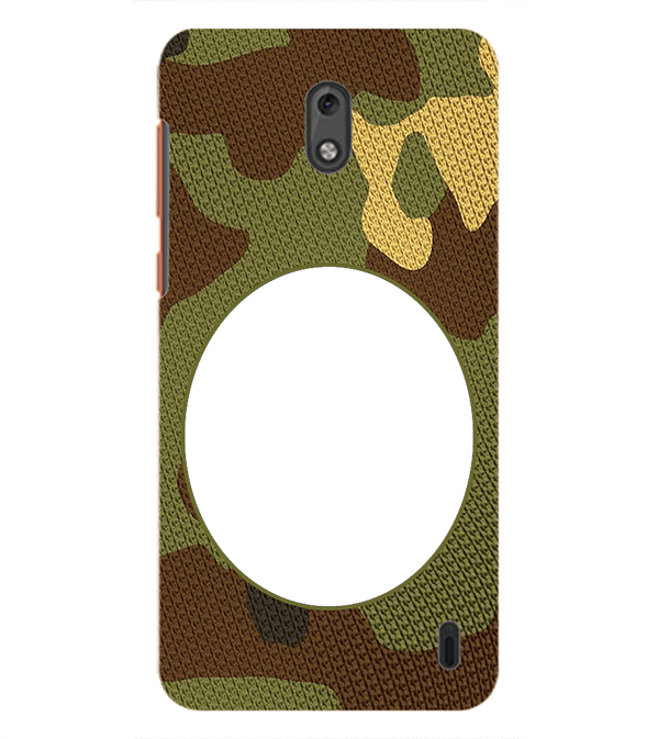 Camouflage Photo Back Cover for Nokia 2