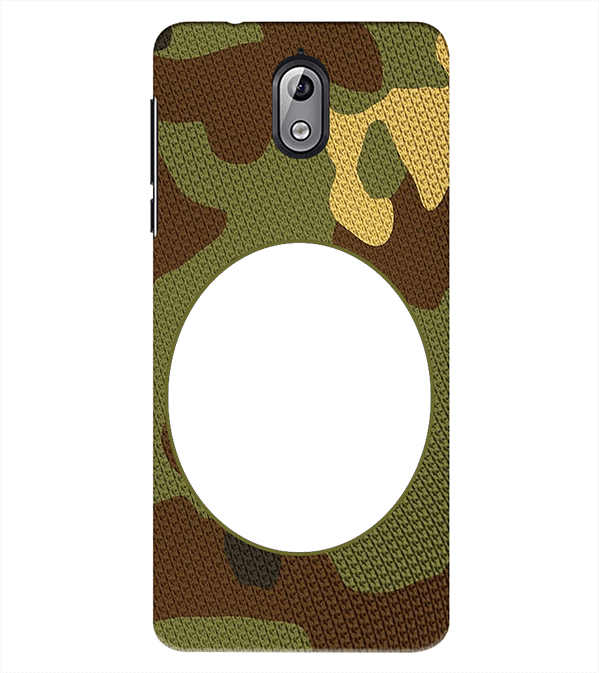 Camouflage Photo Back Cover for Nokia 3.1 (2018)