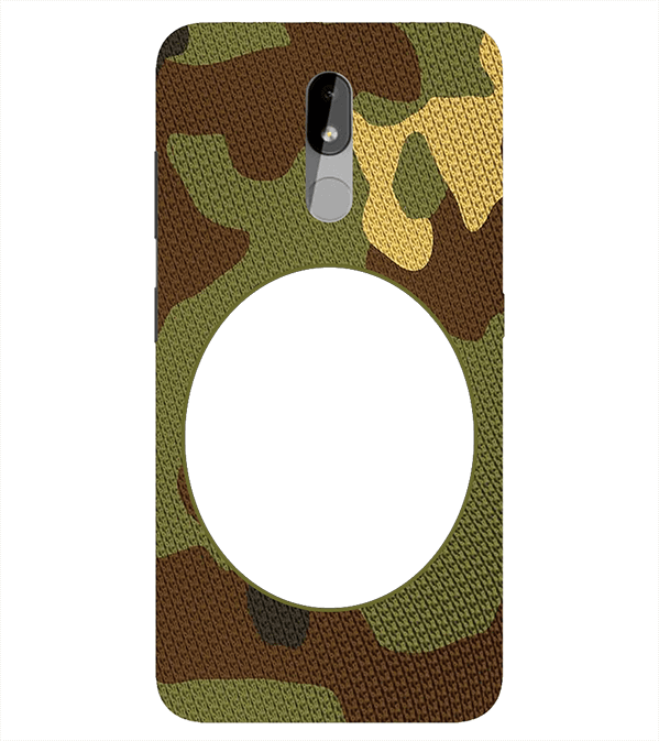 Camouflage Photo Back Cover for Nokia 3.2