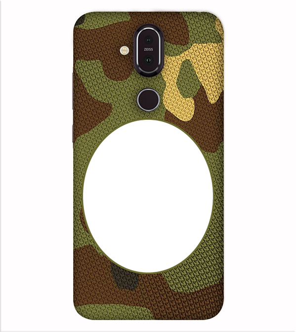 Camouflage Photo Back Cover for Nokia 8.1 (Nokia X7)