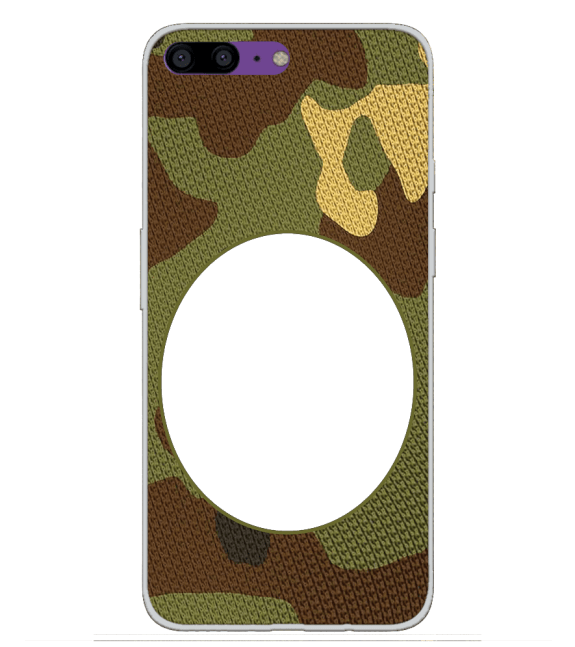 Camouflage Photo Back Cover for OnePlus 5