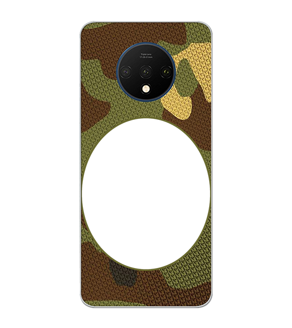Camouflage Photo Back Cover for OnePlus 7T