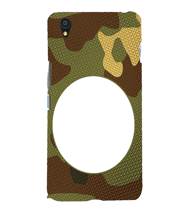 Camouflage Photo Back Cover for OnePlus X