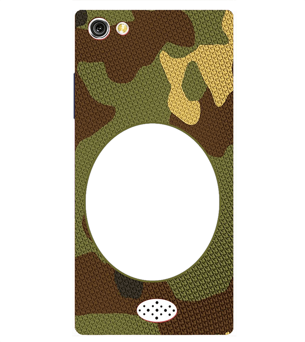 Camouflage Photo Back Cover for Oppo Neo 5
