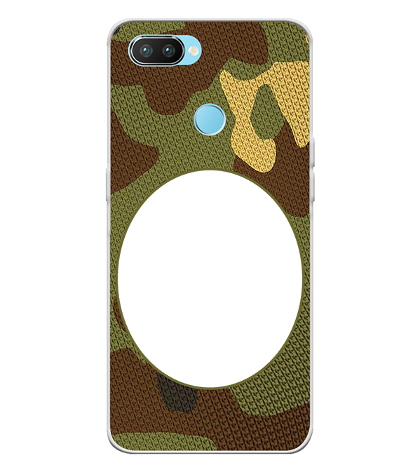 Camouflage Photo Back Cover for Oppo Realme 2 Pro